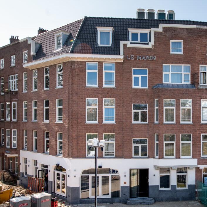 hotel le marin rotterdam building gebouw