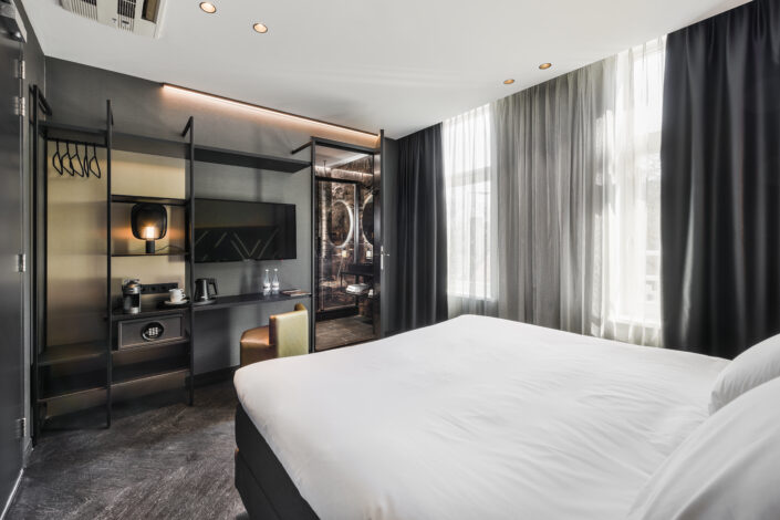 le marin hotel rotterdam suite bedroom